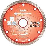 kwb 724540 Aggresso-Flex Disque à tronçonner diamant Rouge 125 x 22 mm