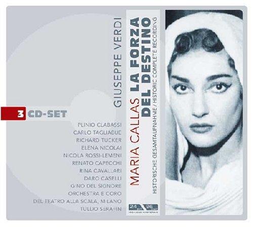 Giuseppe Verdi: La Forza Del Destino (Die Macht des Schicksals) (Oper) (Gesamtaufnahme) (3 CD)