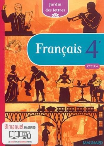 Jardin des lettres Bimanuel: Francais 4e (bimanuel) por Charles Dickens