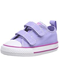 facd8663b16bd1 Converse Unisex Babies  CTAS 2v Ox Twilight Pulse Hyper Magenta Birth Shoes