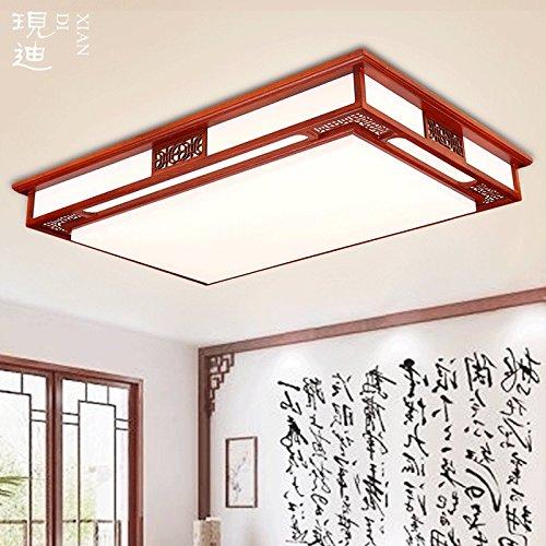 KHSKX Lampada da soffitto,Cinese di legno solido