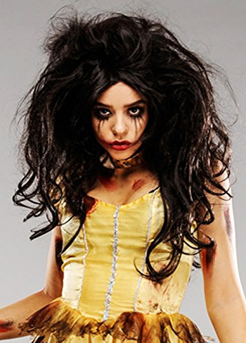 Zombie Prinzessin Belle Perücke Deluxe Damen