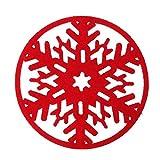 TianranRT Cupcake Kissen Tischset Pad Dekoration Wohnhaus Untersetzer DM (Rot)