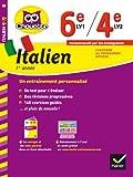 Italien 1re année 6e LV1 / 4e LV2: cahier de révision et d'entraînement