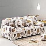 SSDLRSF Elastische Sofa-Überzüge Enge Wrap All-inclusive rutschfeste Sofa Handtuch Sofa Covers für Living Single/Zwei/Drei/Vier-Sitzer (145-185cm), Farbe 13,1A und 1A und 1B