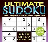 Ultimate Sudoko 2018 Calendar: Classic, Irregular, Multi, Odd/even, Diagonal, Sum