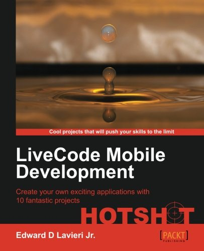 LiveCode Mobile Development Hotshot Cover Image