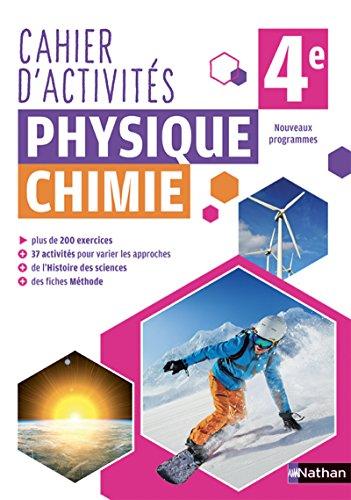 Cahier de Physique-Chimie 4e
