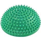 Semisfera riccio Balance »Igel« per migliorare l'equilibrio / la coordinazione. Ideale per l'allenamento della coordinazione, 320 g, circa 8 cm d'altezza e un diametro di 16 cm / turchese
