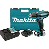 Makita fd05r1 12 V max cXT Lithium-Ion Cordless Driver Drill Kit, 3/8 by MAKITA
