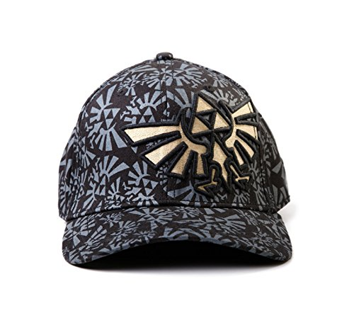 Kids Flex-fit Cap (Nintendo Zelda logo Nue offiziell all over print Flex fit Baseball Cap)