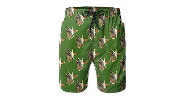 Boys Yellow//Black Striped Sharks Cargo Board Shorts Swim Trunks