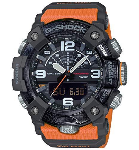 Reloj Casio GG-B100-1A9ER Naranja Resina Hombre