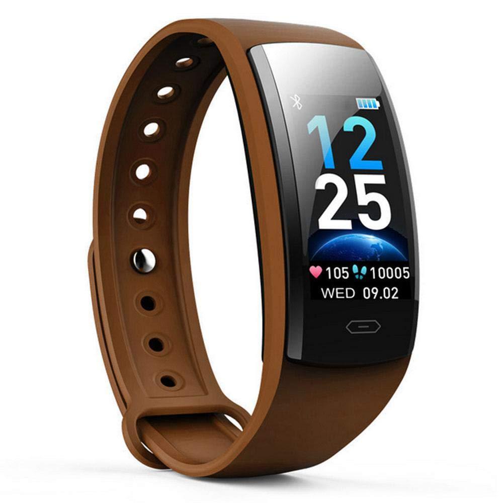 DokFin Pulseras Inteligentes, Fitness Tracker HR con Monitor de Ritmo cardíaco Reloj Rastreador de Actividad Reloj con… 1