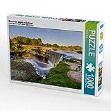 Wasserfall Jägala in Estland 1000 Teile Puzzle Quer