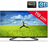 47LA660S - 47' 3D LED-backlit LCD TV - Smart TV - 1080p (FullHD) - edge-lit + Fixed Wall Mount - black