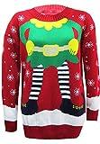Elfen Weihnachtspullover