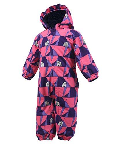 Color Kids Kinder Schneeanzug Rimah rosa (311) 74   05711309091488