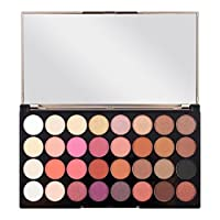 FLAWLESS 4 - ULTRA 32 EYESHADOWS PALETTE by MAKEUP REVOLUTION. Eyeshadow palette. It consists of 32 shades. Neutral colors will allow you to create makeup for any occasion. Delicate formula is easy to apply and stays on skin for a long time withou...