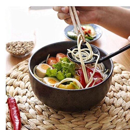 Salade de fruits Bol de soupe rétro créative Bol de ramen en céramique de style japonais Bol de salade de fruits Maison Ramen Bowl Assiette de salade