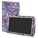 LiuShan Alcatel OneTouch Pixi 3 10 hülle, Folding PU Leder Tasche Hülle Case mit Ständer für 10.1