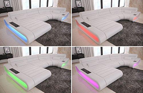 Big Sofa Concept U Form Stoff Mix XXL