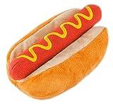 P.L.A.Y. Pet Lifestyle and You - PLÜSCH SPIELZEUG FÜR HUNDE UND KATZEN - Hot Dog