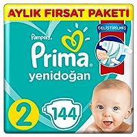 Prima Bebek Bezi Aktif Bebek 2 Beden 144 Adet Aylık Fırsat Paketi