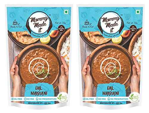 Mommy Made It Ready to eat Readymade Dal Makhani (Pack of 2)