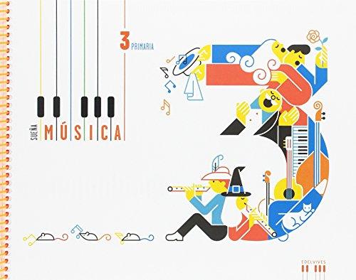 Música 3º Primaria: (Libro + cuaderno) (Sueña música) por Carlos Enrique del Valle Mateos