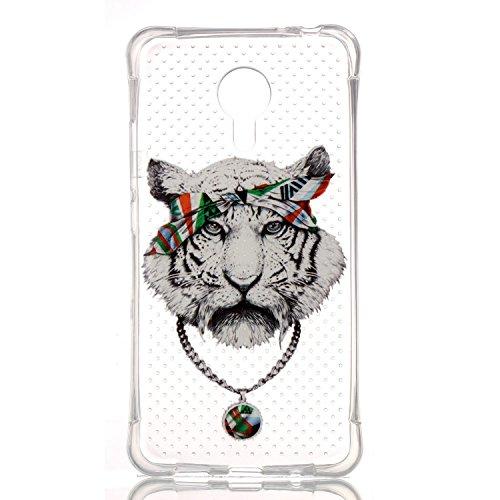 Voguecase® Pour Apple iPhone 6/6S 4.7, TPU Silicone Shell Housse Coque Étui Case Cover (tête de lion 01)+ Gratuit stylet l'écran aléatoire universelle Creux-tête de tigre 01