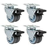 Best Points à billes - LIHAO Lot de 4 Roulettes Ultra-résistantes Pivolantes avec Review