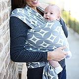Allisandro & Baby Algodón Froal Fular Portabebés de Bebé Portador Estampado Elegante