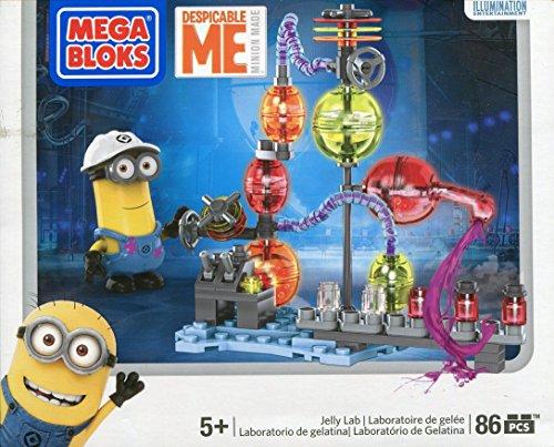 (Mega Bloks 94812U - Ich Einfach Unverbesserlich Jelly Lab Spiel)