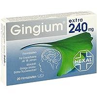 Gingium extra 240 mg Filmtabletten 20 stk preisvergleich bei billige-tabletten.eu