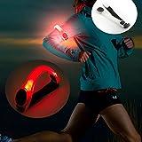 SHOP STORY - Bracelet de Sécurité Brassard Sportif à LED Pour Bras, Poignet ou Cheville