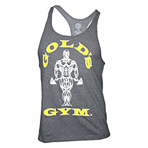 Golds Gym Classic Golds Gym Stringer Tank Top 100% Baumwolle (Arctic Grey, M)