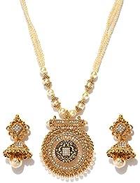 Panash Gold-toned Jewellery Set