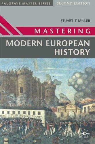 Mastering Modern European History (Palgrave Master Series) by Stuart Miller (1997-06-18)
