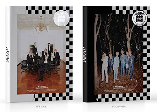 SM Entertainment NCT Dream - WE Boom [WE+Boom ver. Set] (3rd Mini Album) 2CD+2Photobook+2BOOM Card+2Photocard+2CIRCLE Card+2Folded Poster+Double Side Extra Photocards Set