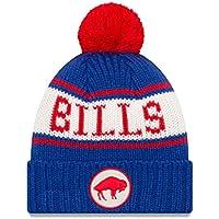 "Buffalo Bills New Era NFL 9Twenty Historic ""Retro Patch"" Cuffed Knit Hat"