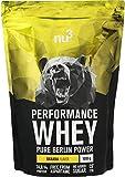 nu3 Performance Whey Protein - Proteína en polvo (74.8%) sabor plátano   Con...