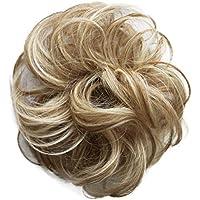 PRETTYSHOP 100% pelo real, cabello humano, coletero, postizo, hairpiece, concentración