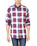 Eighty Eight Men's Casual Shirt (Redblu0...