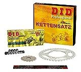 Kettensatz / Kettenkit Yamaha WR 125 X, 2009-2013, Typ DE07, DID X-Ring (VX) extra verstärkt