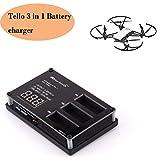 Tello Charger3 en 1 Multi Rapid Paralelo Cargador Hub para DJI Tello Drone