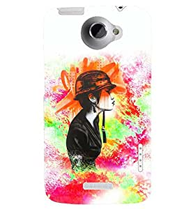 PRINTSWAG BEAUTIFUL GIRL Designer Back Cover Case for HTC ONE X