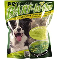 petman barf All-in-One pansen Plus, 20x 1000g de bolsa, congelador Forro, saludable, naturales Nutrición para perros, perros Forro, barf, b.a.r.f.