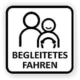 Auto targa begleitetes guida/magnetica/per Germania (BF 17) e Austria (L 17)/diverse misure disponibile