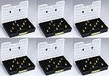 6 Stück XXL Sortimentskasten Sortimentskiste Sortierkasten Organizer AL 457300